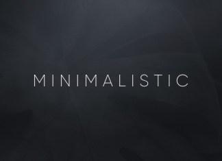 Minimalistic Font