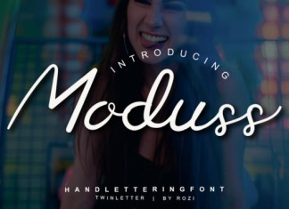 Moduss Font