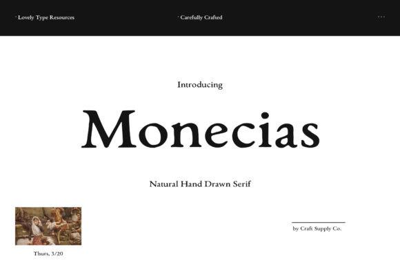 Monecias Font