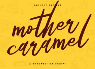 Mother Caramel Font