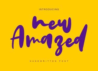 New Amazed Font