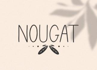 Nougat Font
