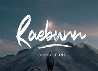 Raeburn Font