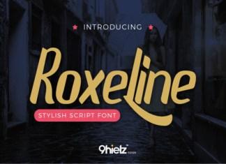 Roxeline Font