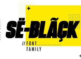 SeBlack Font