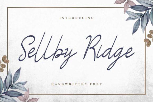 Sellby Ridge Font