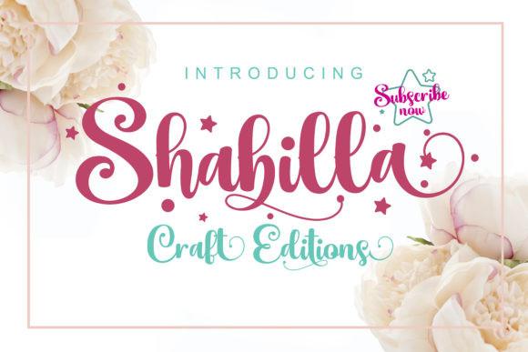 Shabilla Font