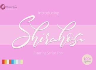 Shirahosi Font