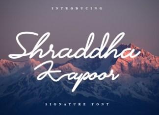 Shraddha Kapoor Font
