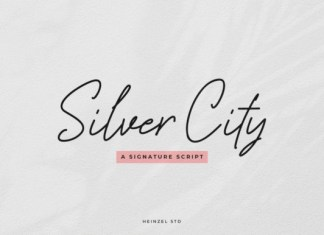 Silver City Font