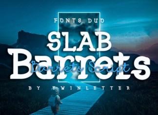 Slab Barrets Font