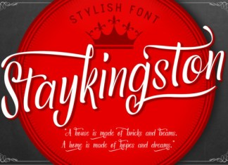 Staykingston Font