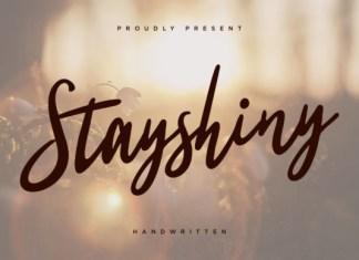Stayshiny Font