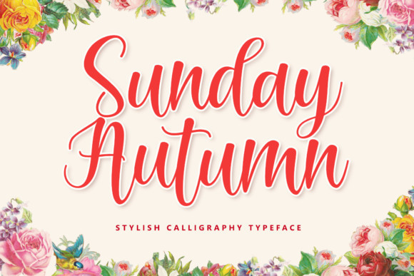 Sunday Autumn Font
