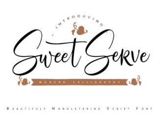Sweet Serve Font