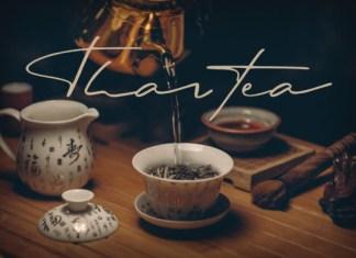 Thaitea Font
