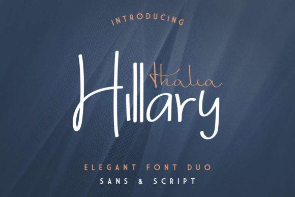 Thalia Hillary Font