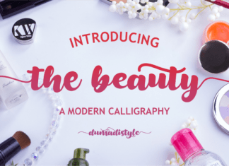 The Beauty Font