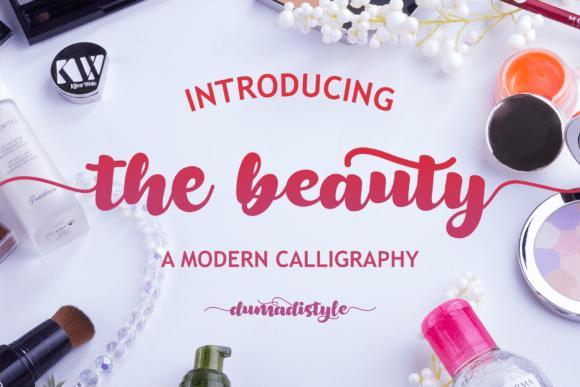The Beauty Font