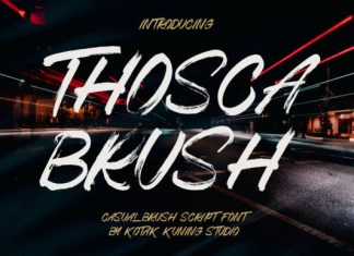 Thosca Font