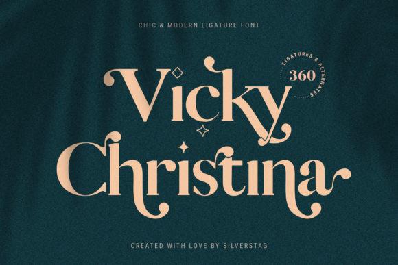 Vicky Christina Font