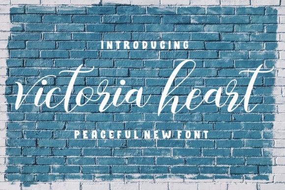 Victoria Heart Font