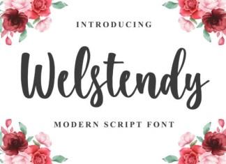 Welstendy Font
