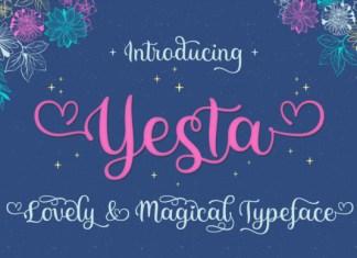 Yesta Font