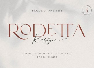 Rodetta Rossie Font