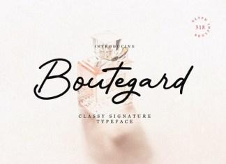Boutegard Font