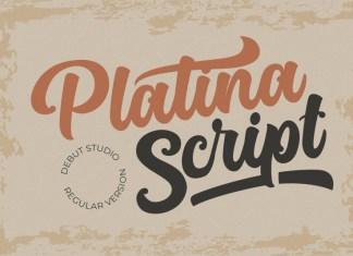 Platina Font