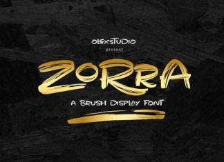 Zorra Font