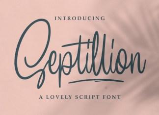 Septillion Font