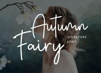 Autumn Fairy  Font
