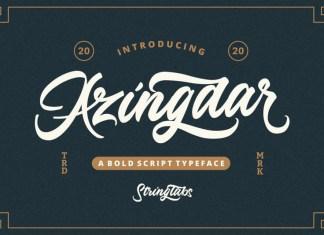Azingdar Font