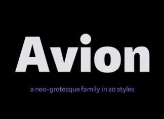 Avion Font
