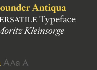 Allrounder Antiqua Font