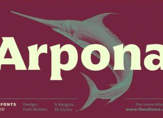 Arpona Font
