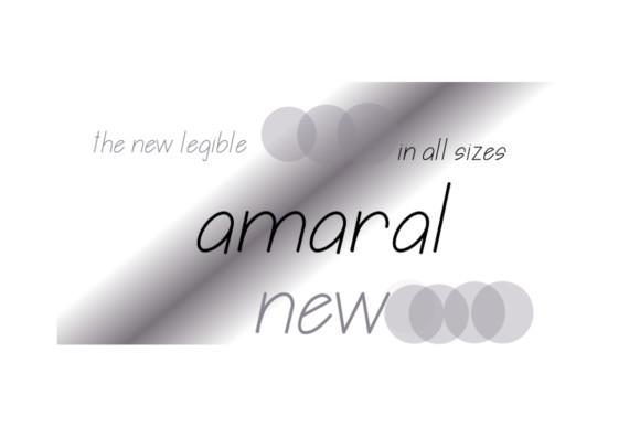 Amaral  Font