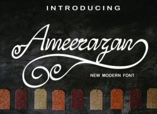Ameerazan Font