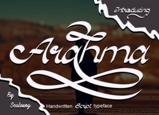 Arahma  Font