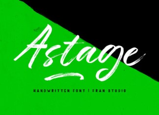 Astage Font