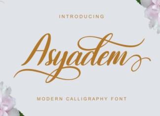 Asyadem Font