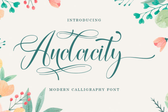 Audacty Font