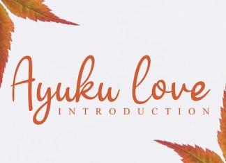 Ayuku Love Font