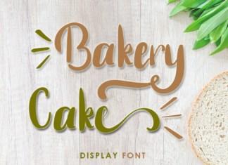 Bakery Cake Font