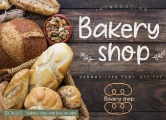 Bakery Shop Font