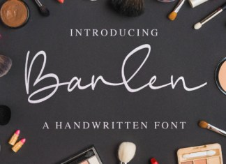 Barlen Font