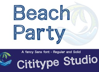 Beach Party Font