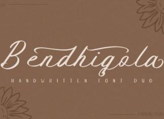 Bendhigola Font